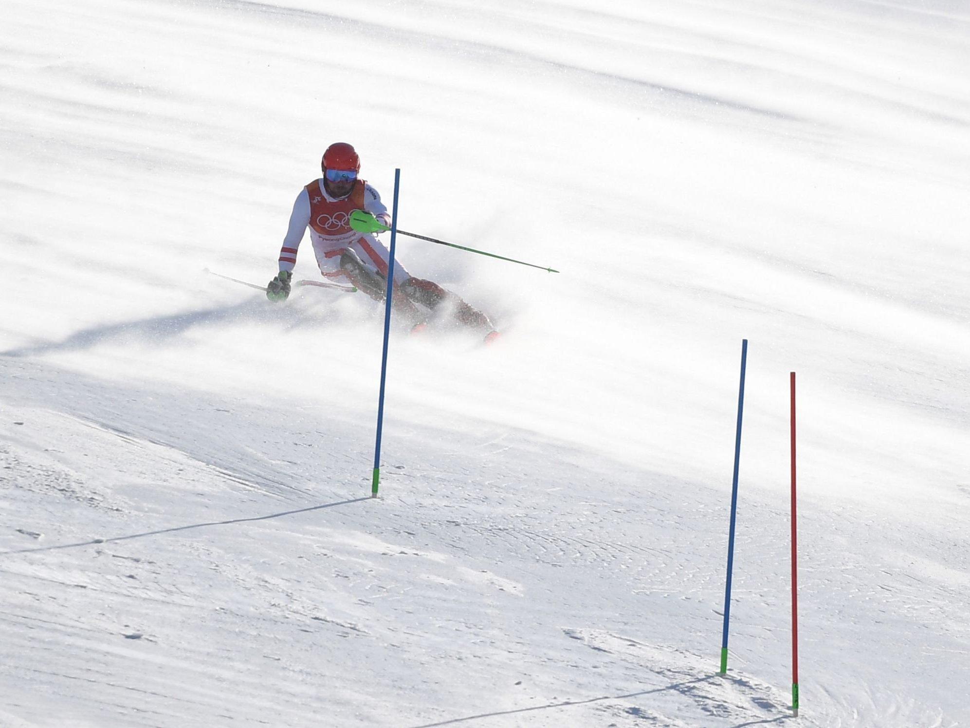 Marcel Hirscher holte sich erste Olympische Goldmedaille