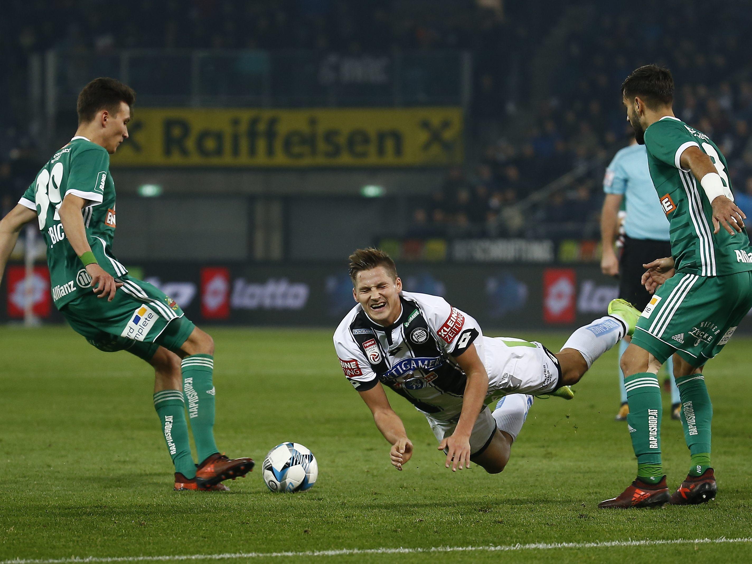 Jetzt Live Sk Rapid Wien Gegen Sk Sturm Graz Im Ticker Wien Fussball Vienna At