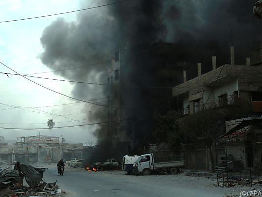 Türkische Streitkräfte haben Afrin eingekesselt