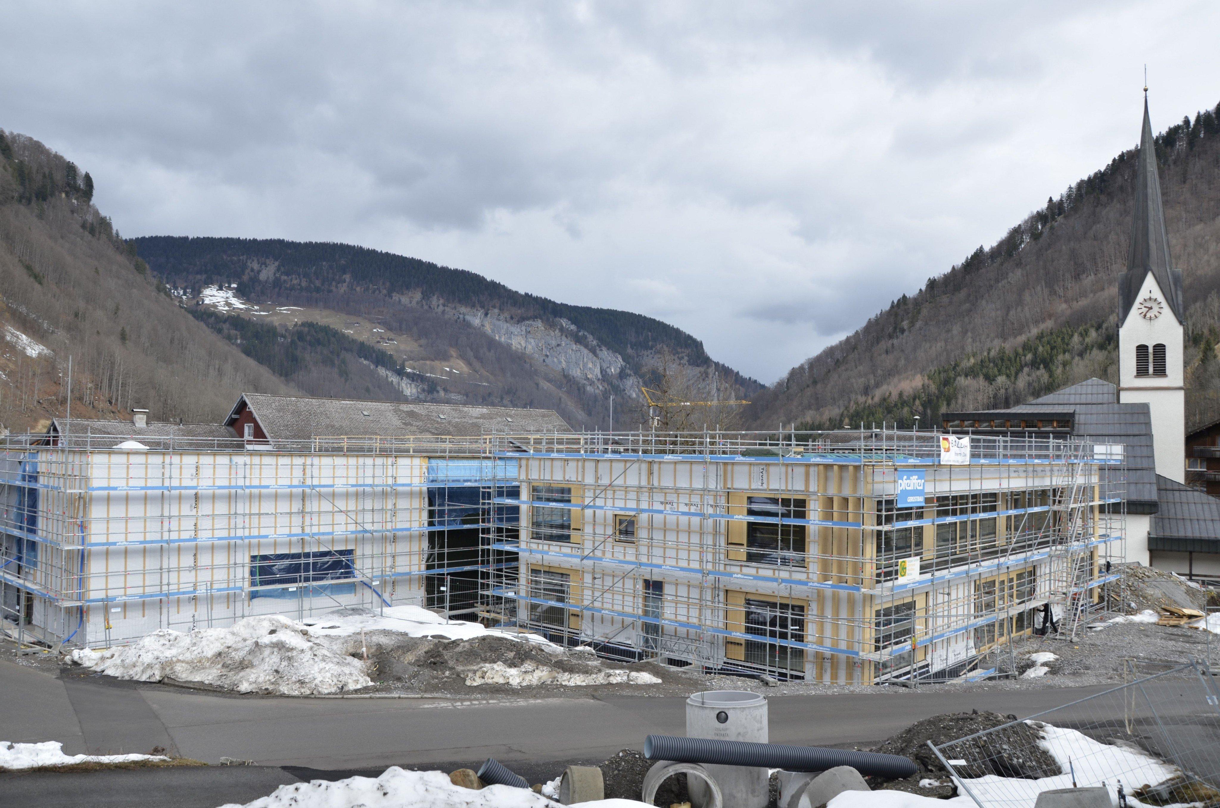 Gemeindebau in Mellau liegt im Zeitplan | Bregenzerwald News