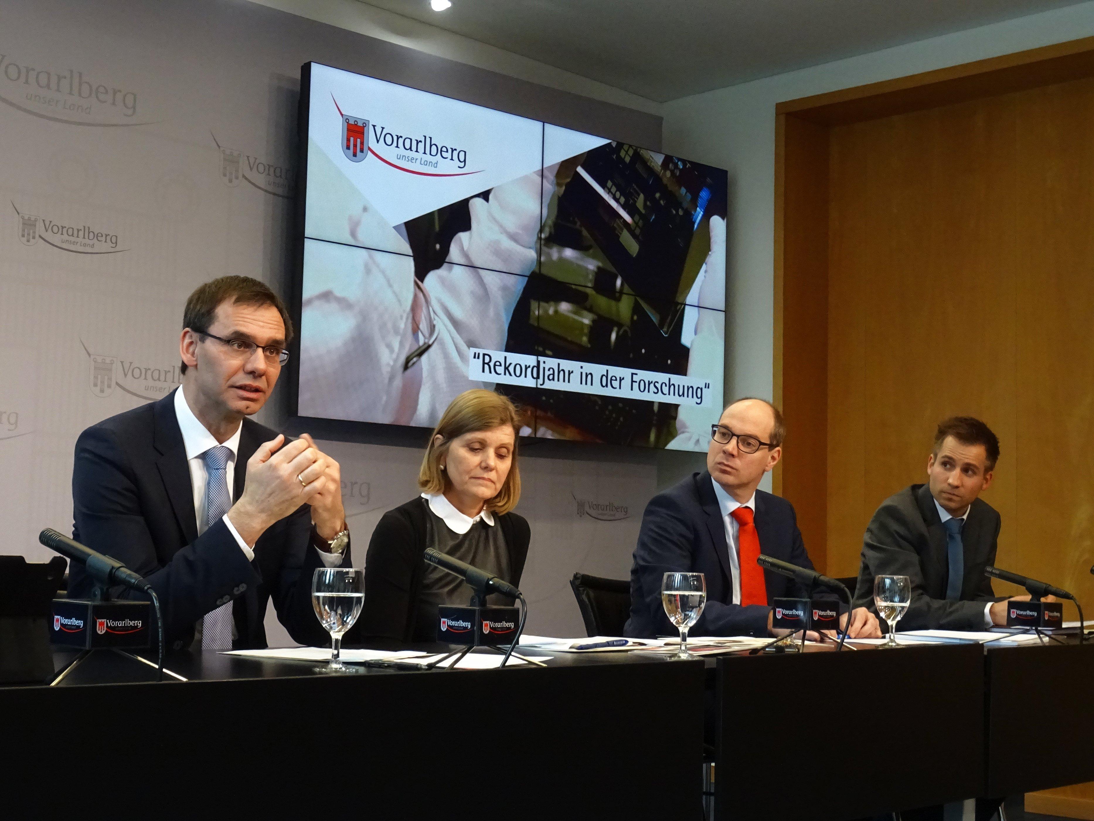 Rekordjahr in der Forschung für die FH Vorarlberg
