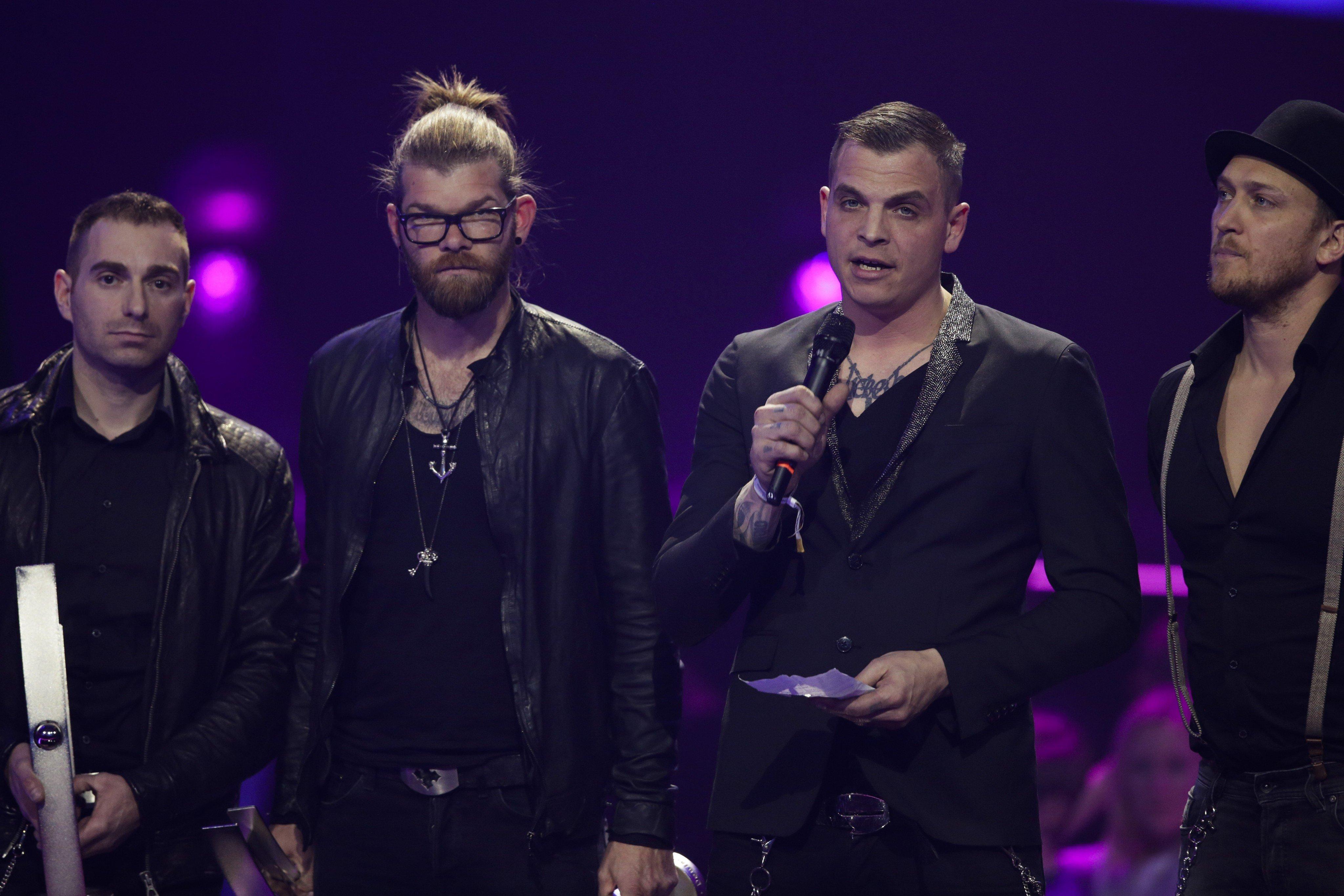 Südtiroler Rockband Frei.Wild gibt Warm Up-Show im Gasometer Wien