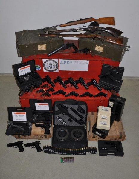 Illegaler Waffenhandel ging vom Bezirk Zwettl aus