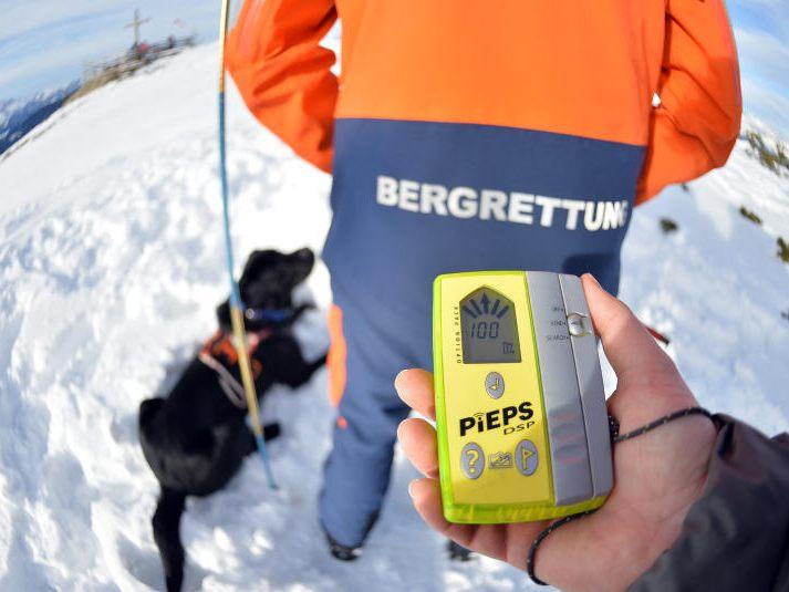 Deutsche Skifahrerin überlebt 40 Minuten unter Schneemassen