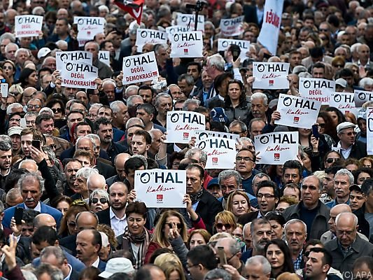 Zum siebten mal: Ausnahmezustand in der Türkei wird verlängert