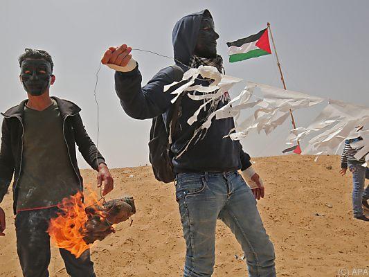 Verletzte bei neuen Unruhen an Gaza-Grenze