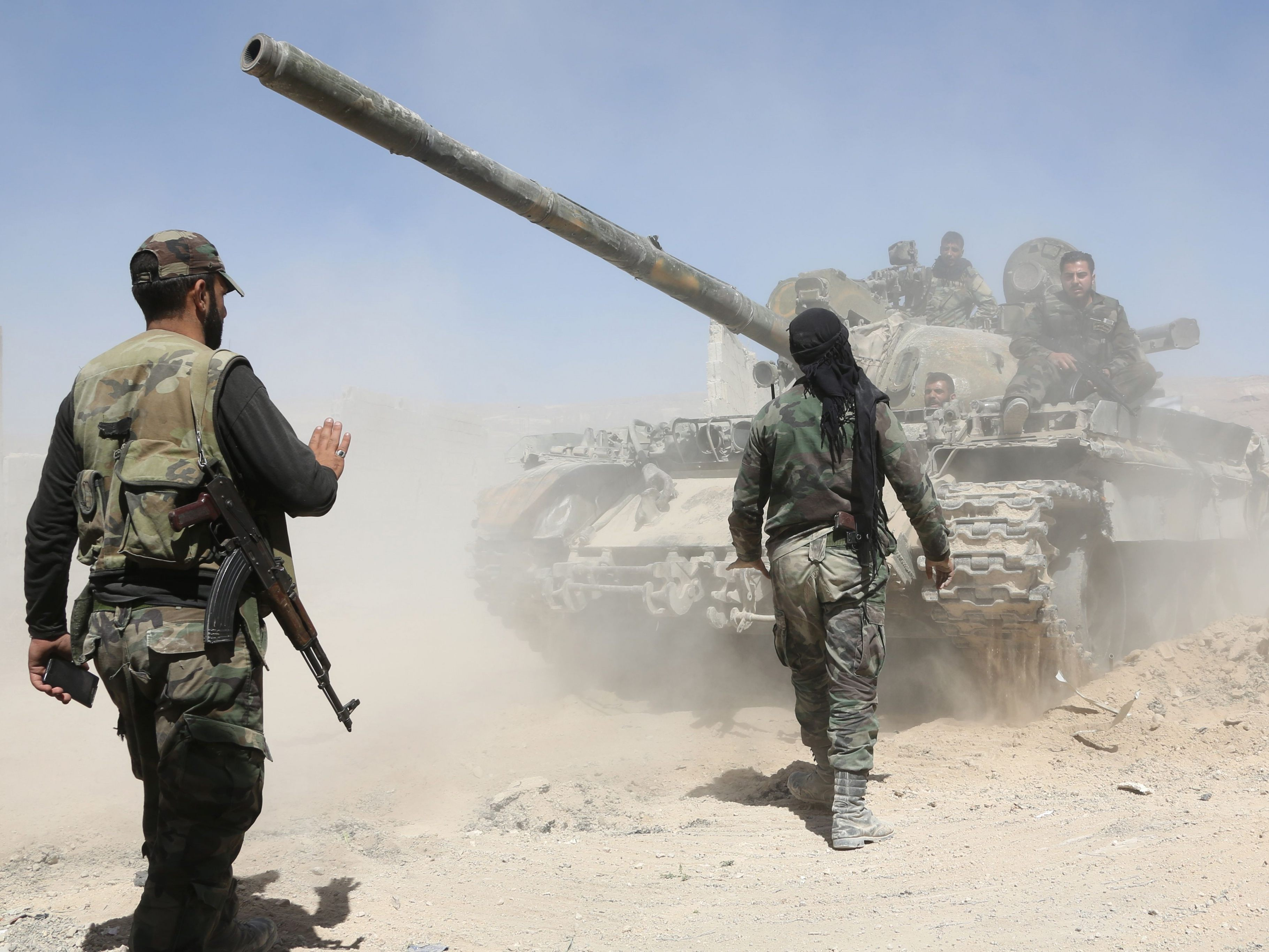 Syrische Regierung kontrolliert Ost-Ghouta