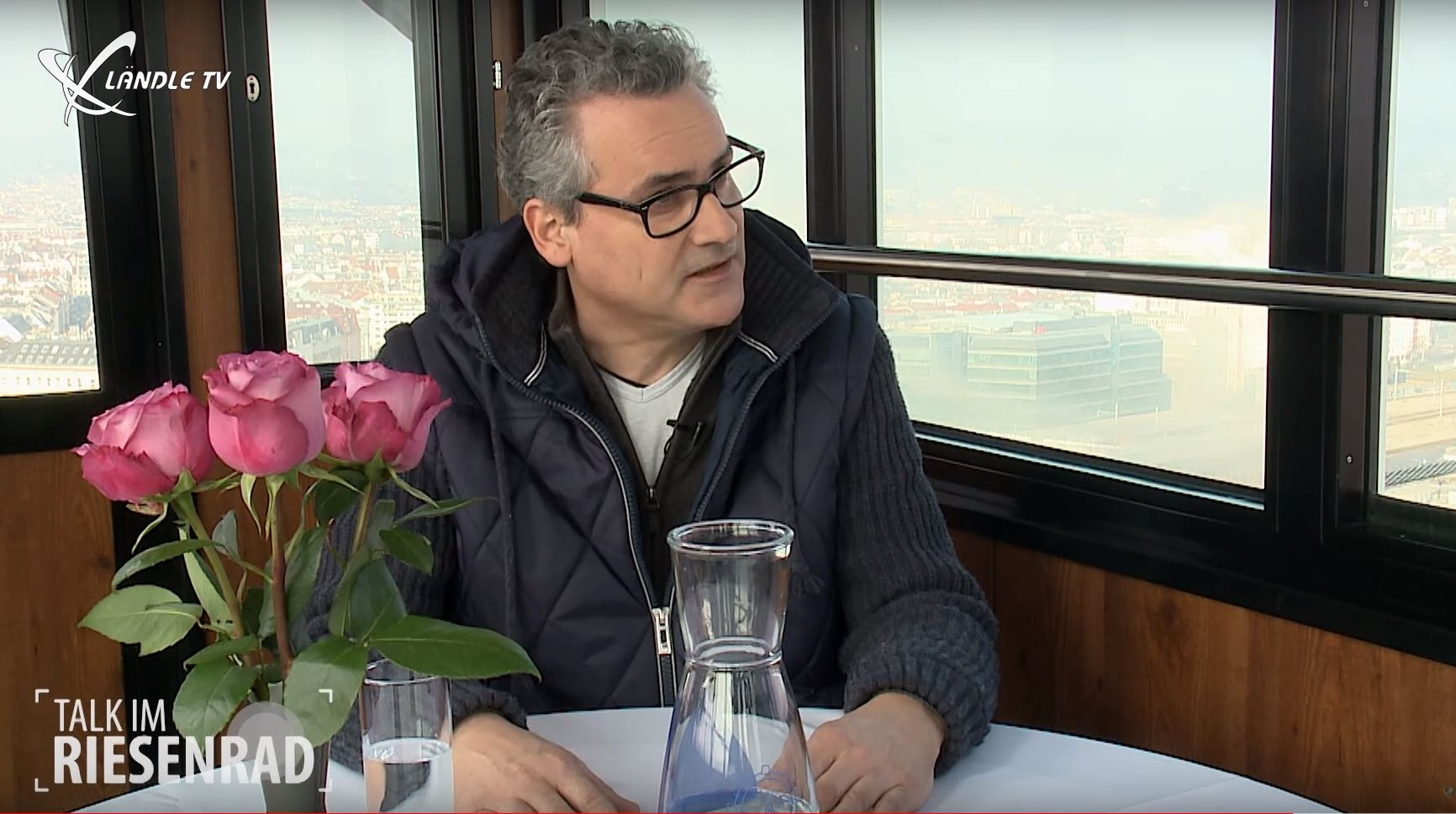 Talk im Riesenrad mit Alexander Bolter