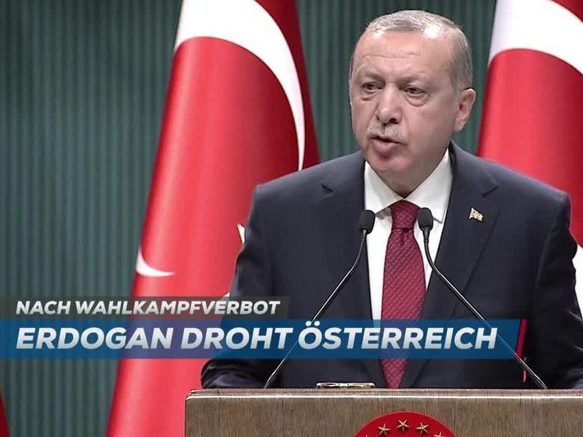 Erdogan drohte Österreich