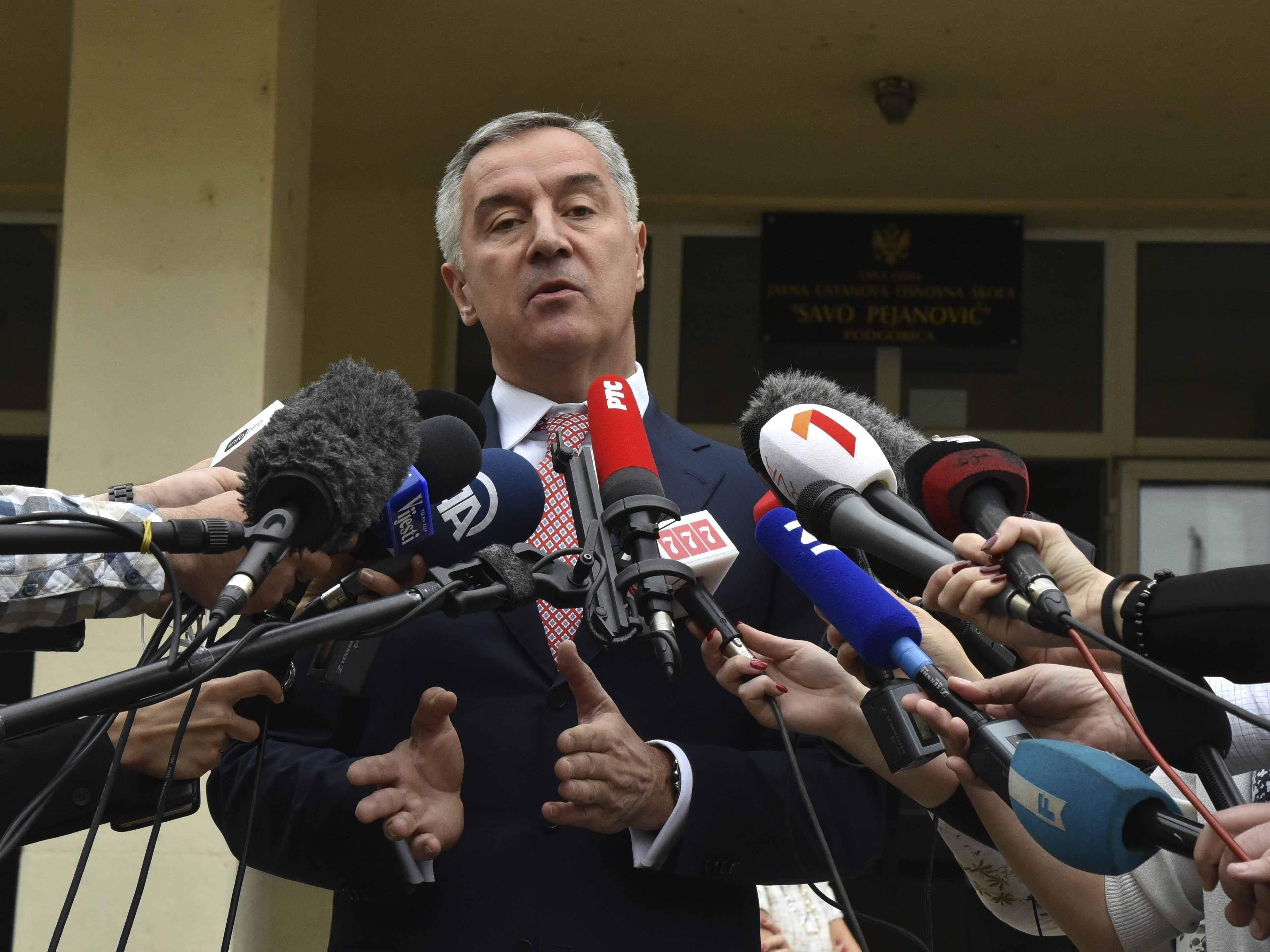 Djukanovic bei Präsidentenwahl in Führung