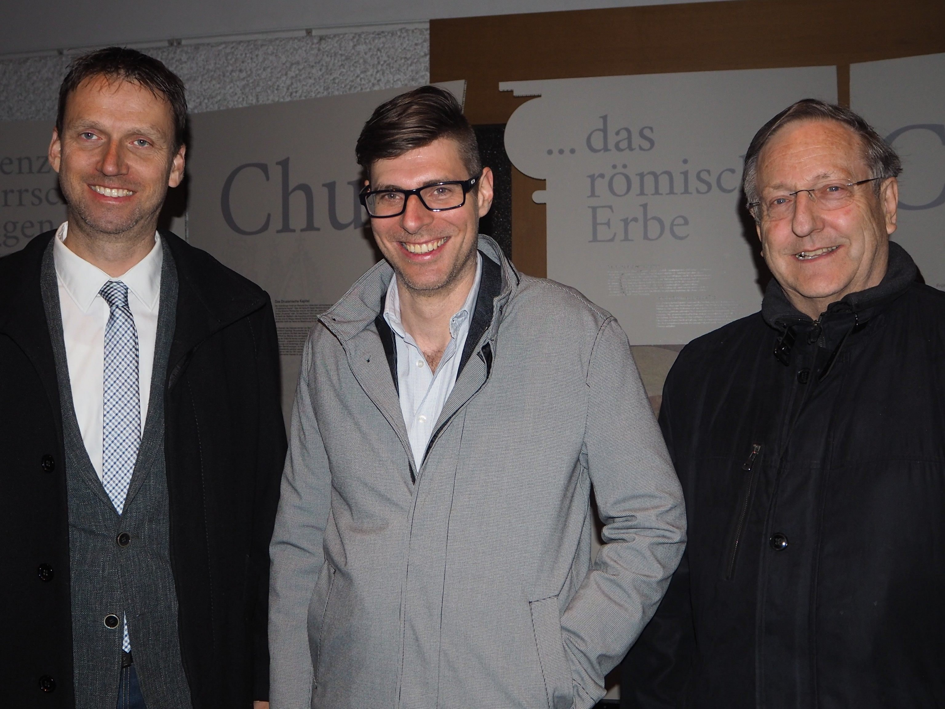 Peter Mayerhofer, Michael Fliri, Wilfried Blum