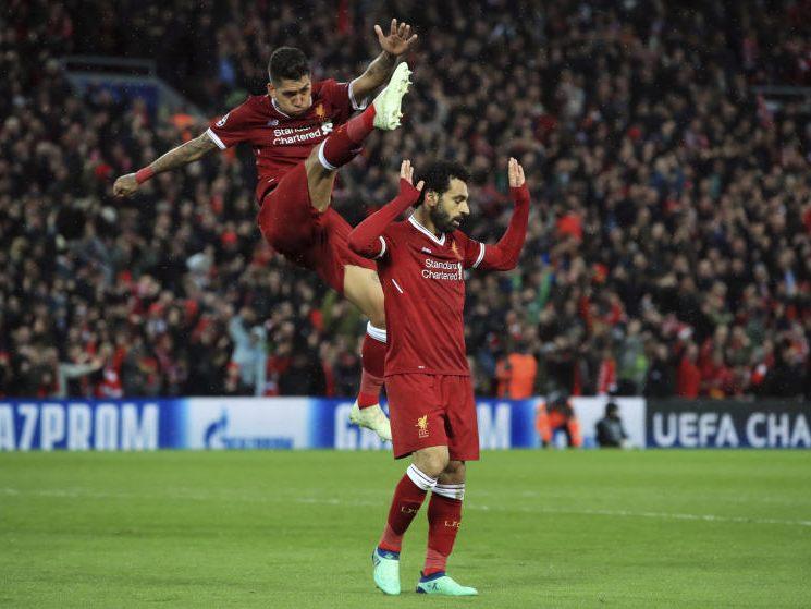 5:2 gegen AS Rom: FC Liverpool mit einem Bein in Kiew