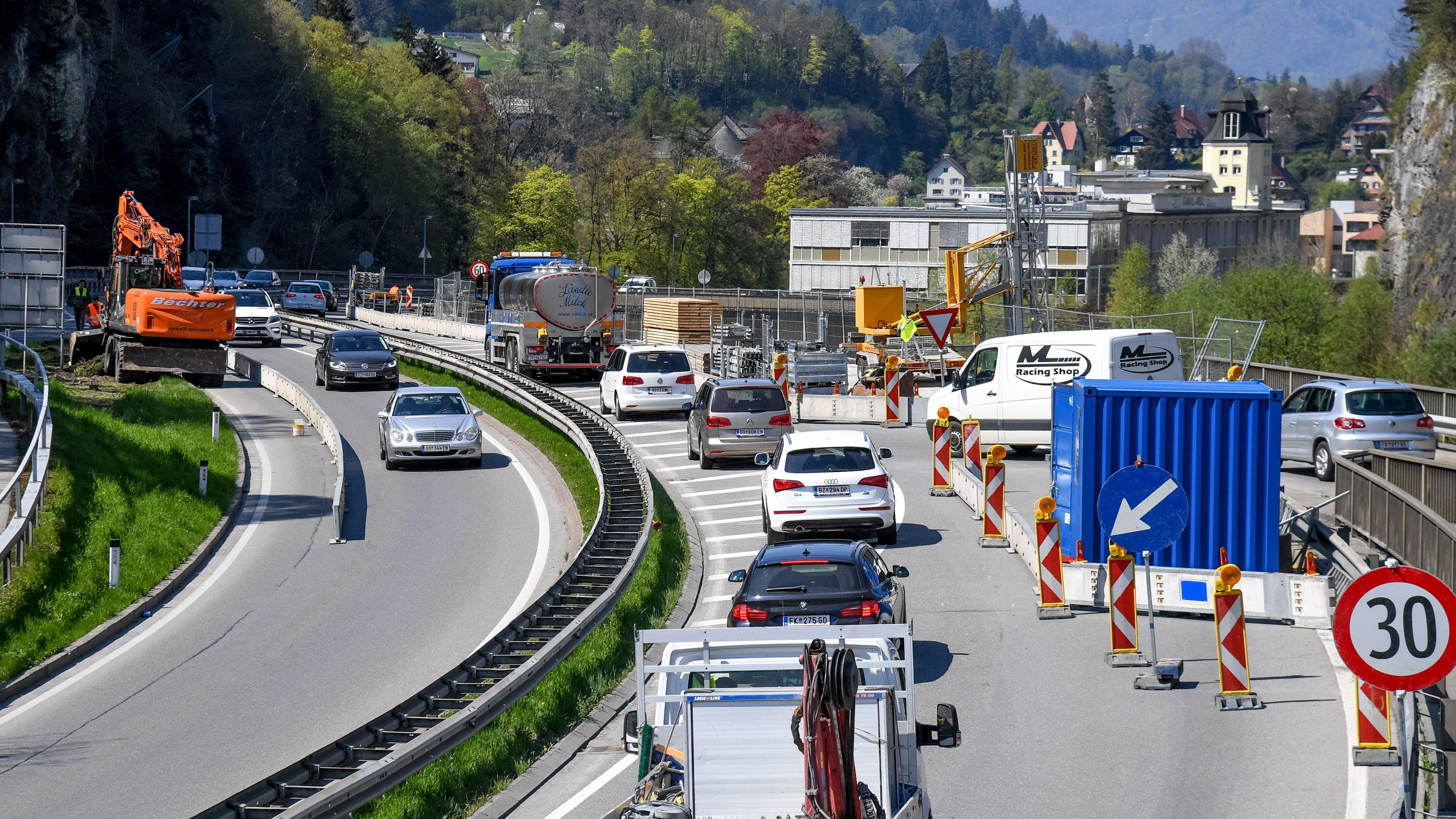 Verkehrslärm belastet 48.000 Vorarlberger