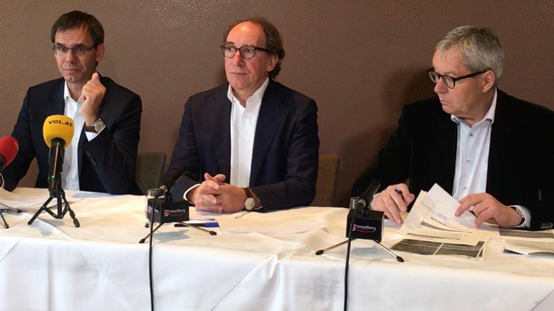 Vorarlberger Landesregierung präsentiert Ergebnisse der Regierungsklausur