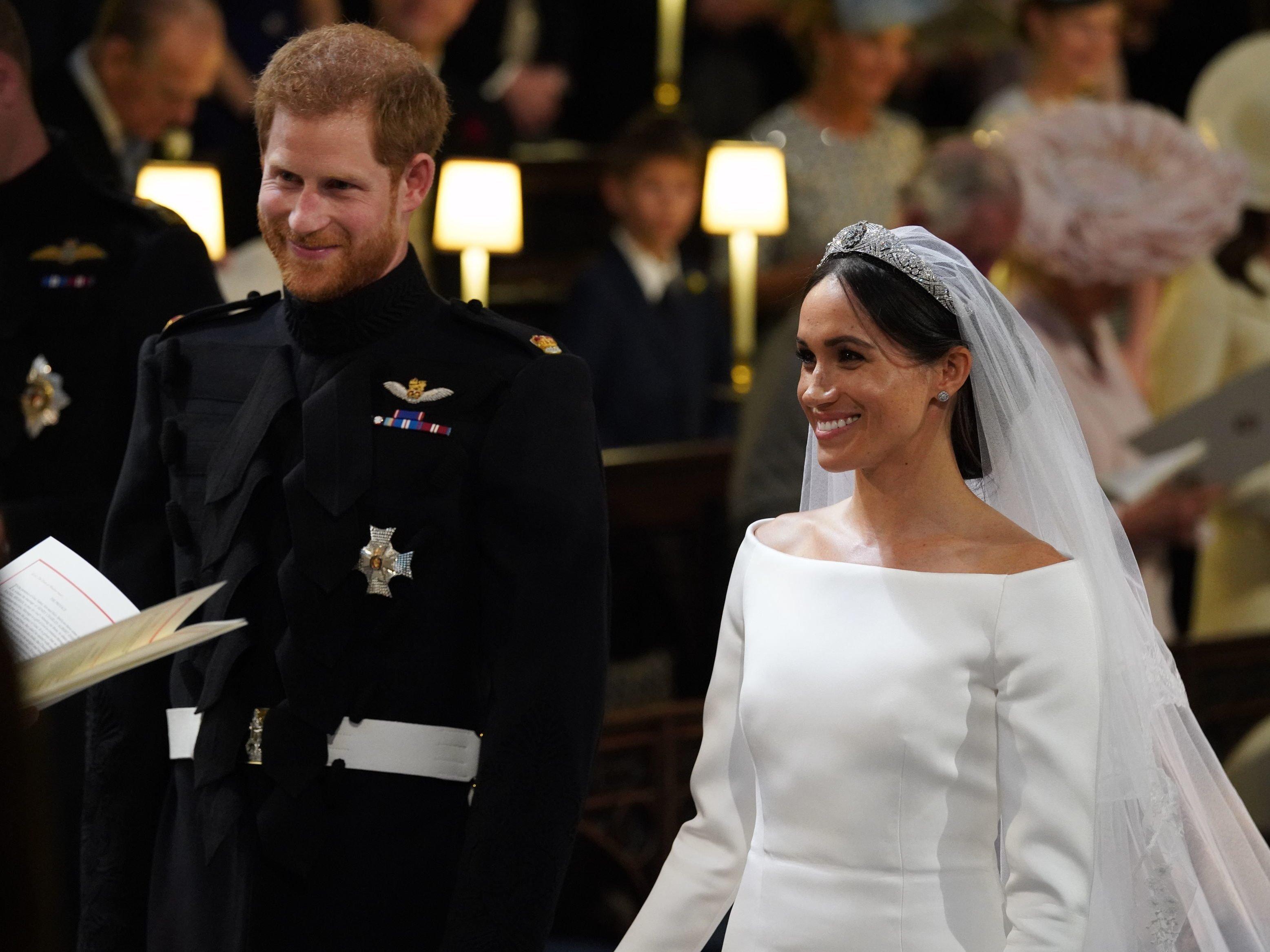 Die Hochzeit Des Jahres Prinz Harry Und Meghan Markle Sind