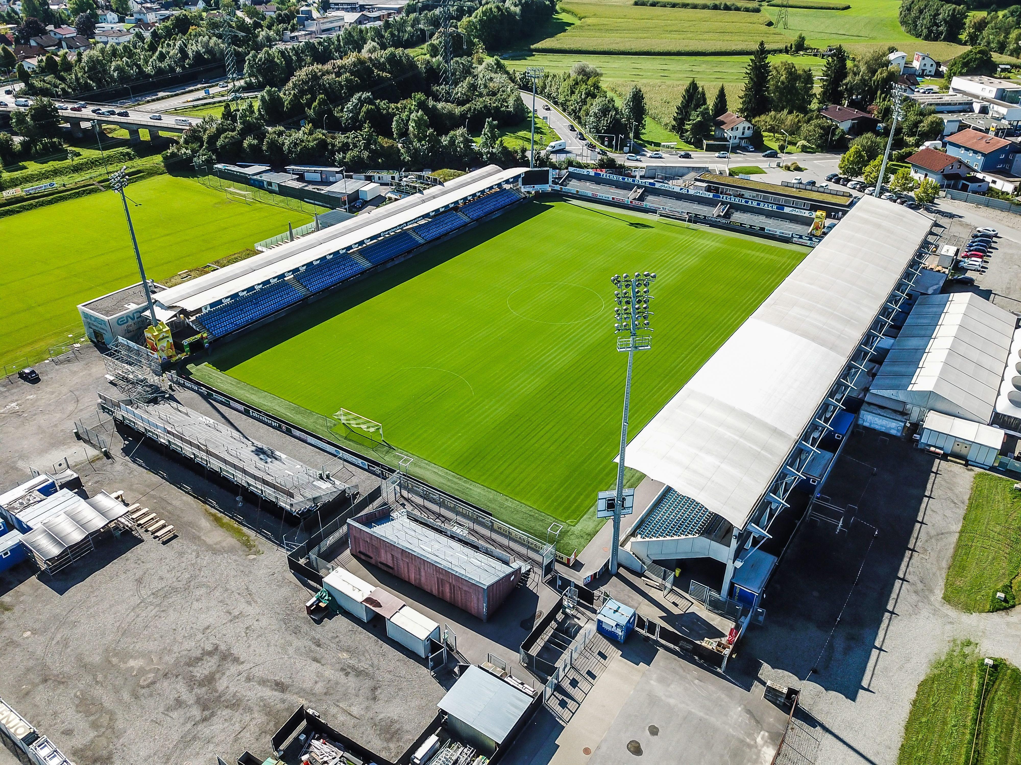 Altach Stadion Die Neue Sudtribune Wird Im Mai