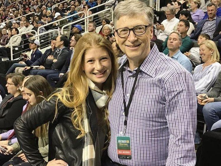 Bill Gates Macht Tochter Geschenk Fur 16 Mio Dollar Stars Vol At