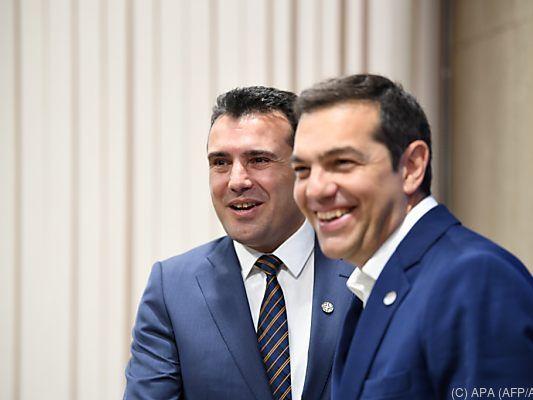 Streit mit Griechenland beigelegt: Mazedonien bekommt neuen Namen