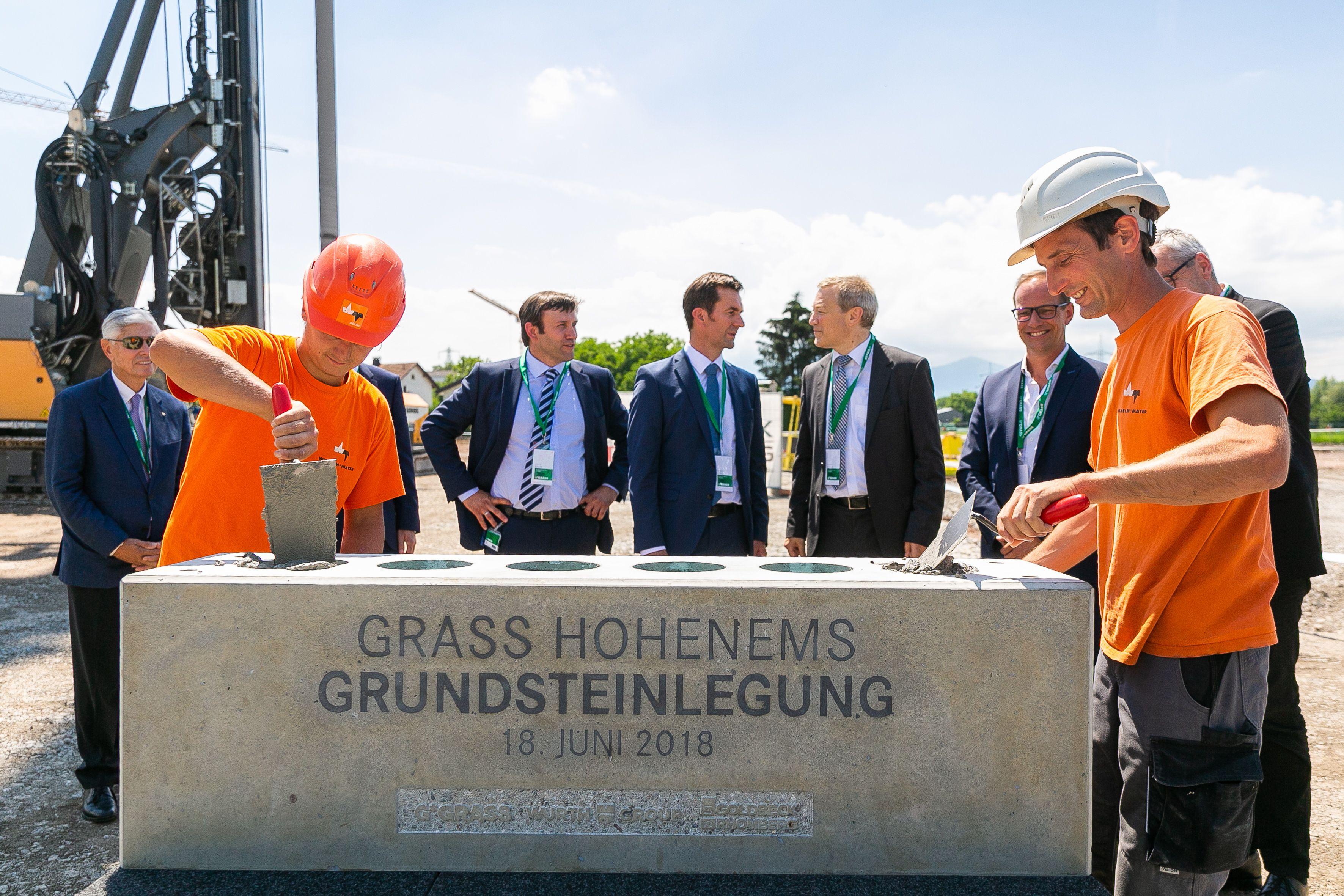 GRASS tätigt Mega-Investition in Hohenems