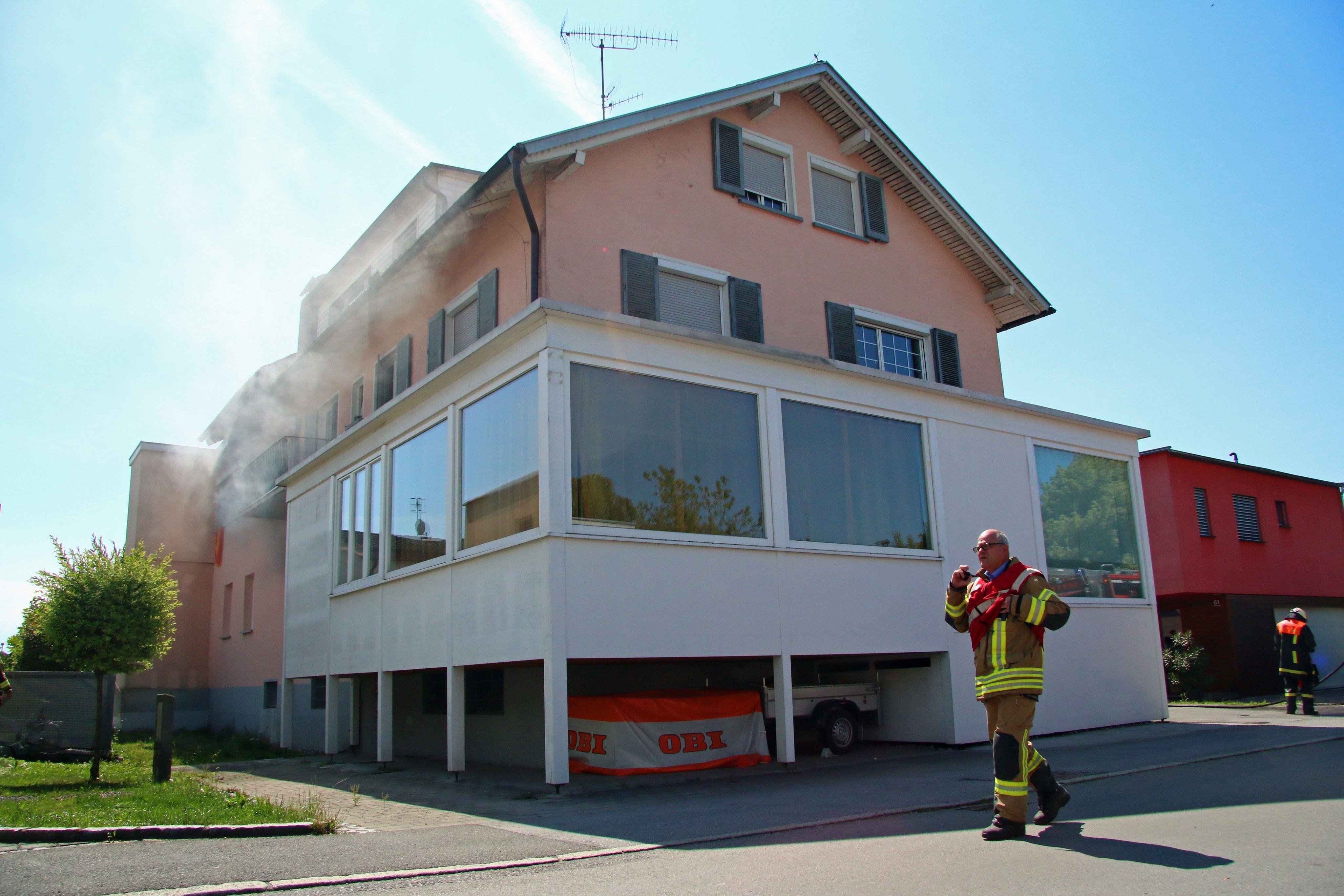 Vorarlberg: Tote Katze bei Wohnungsbrand in Dornbirn