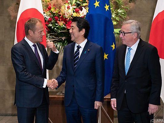 Jefta: EU und Japan unterzeichnen Freihandelsabkommen