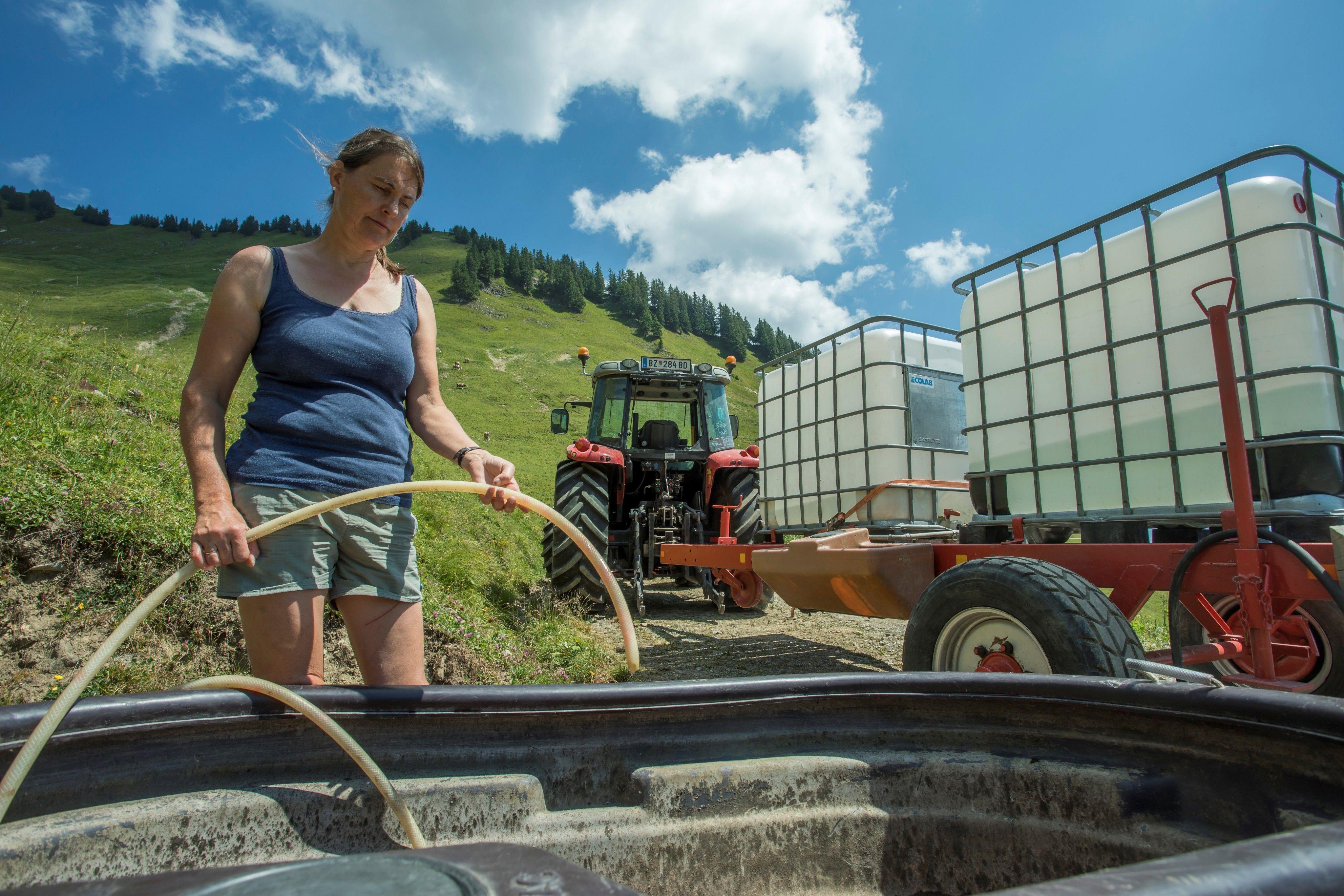 Trockenheit bringt Alpen in Nöte