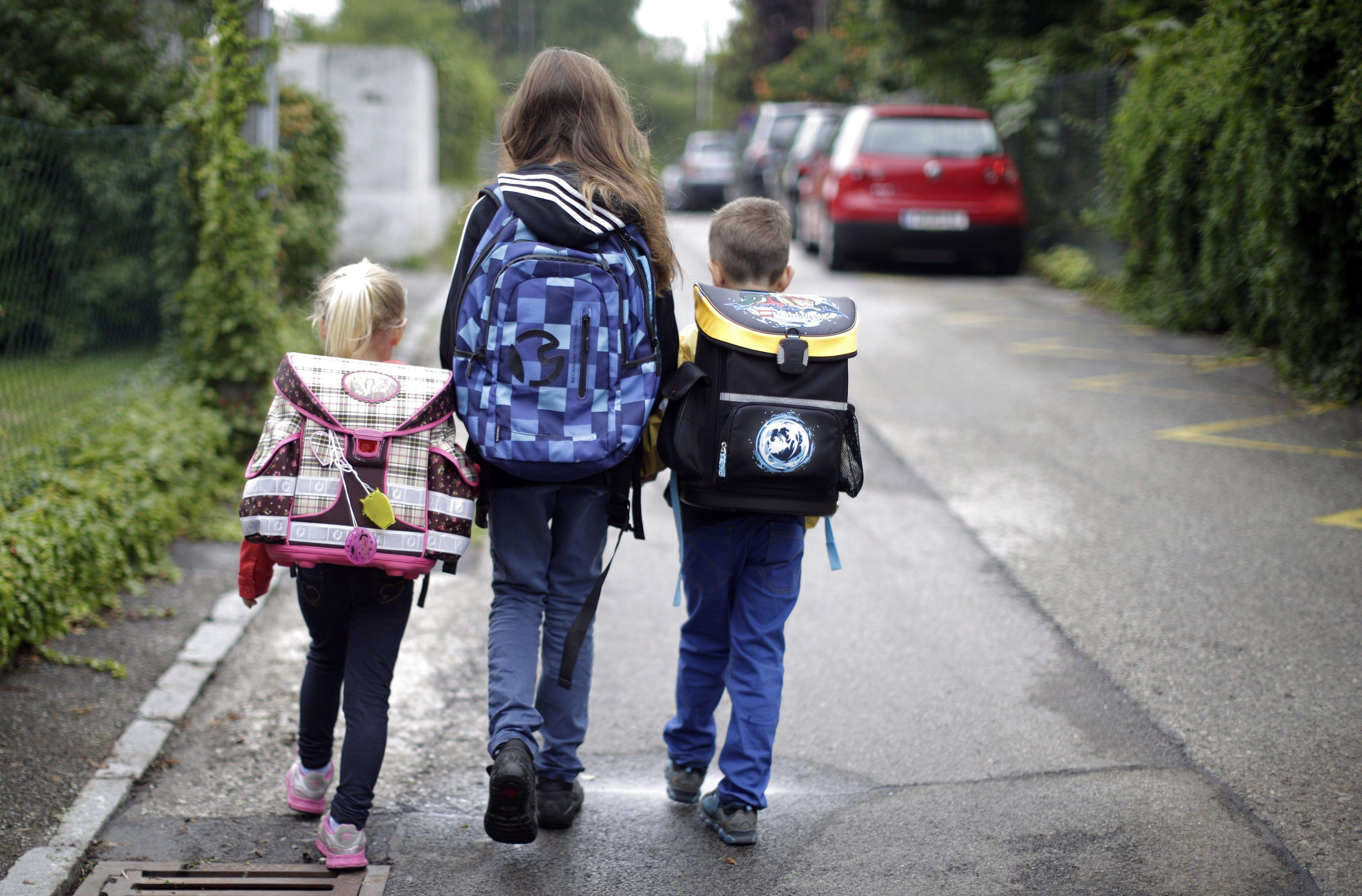 Lustenau gegen Elterntaxis: Volksschüler sparen 11.000 Auto-Kilometer ein
