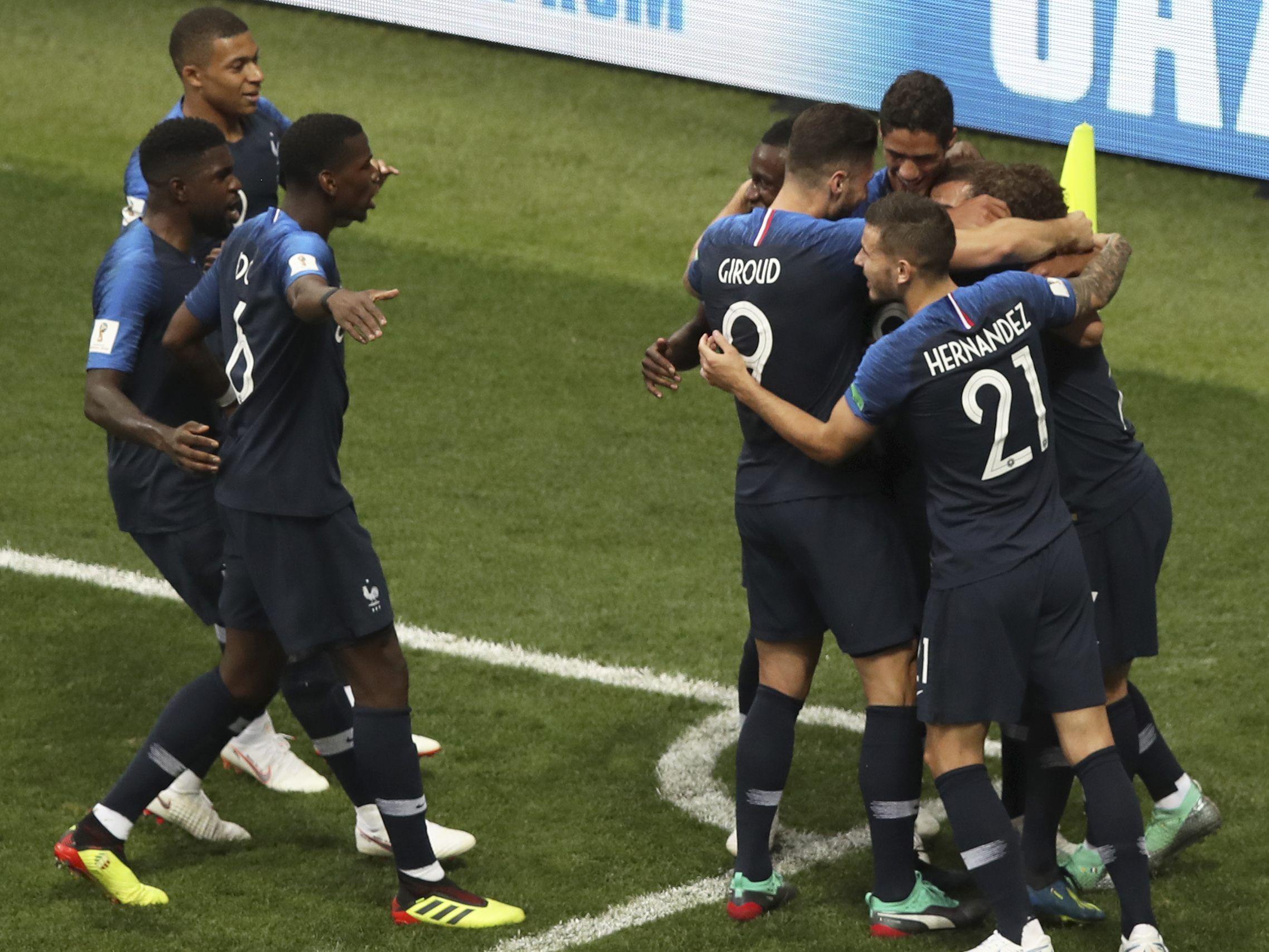 Fussball Wm Frankreich Und Kroatien Rittern Um Die Kronung