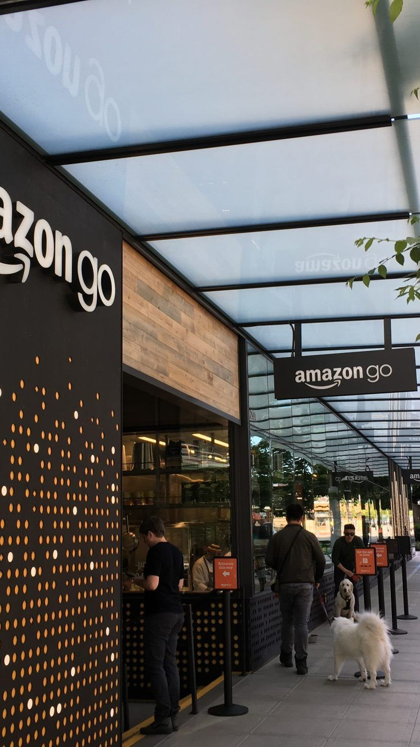 Amazon Go Store in Seattle.