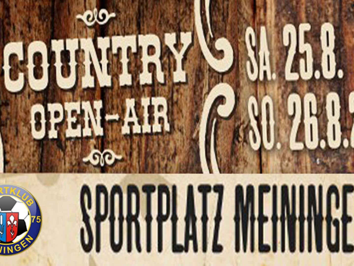 Country Open Air Flyer