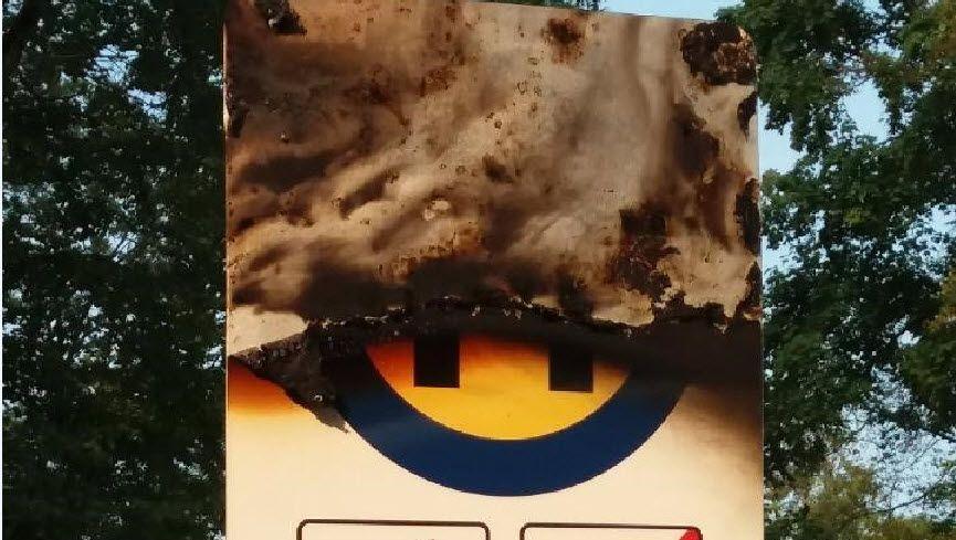 Vorarlberg: Kunstinstallation auf Alt-Ems angezündet