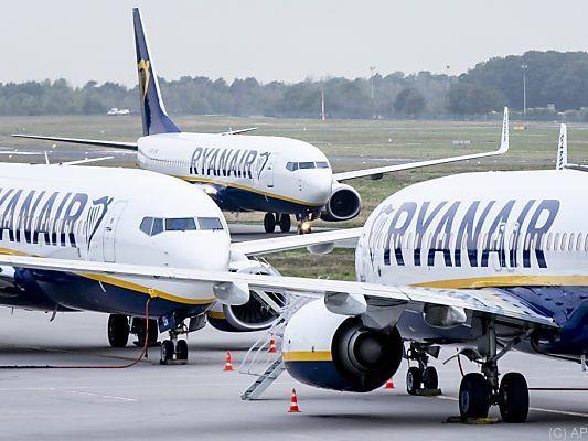 Ryanair sagt wegen Streiks 190 Flüge ab