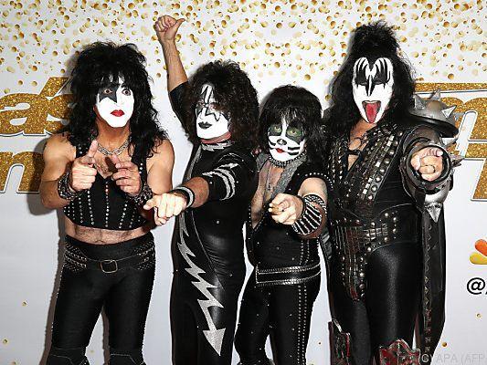 Rocklegenden: KISS gehen auf letzte Tournee