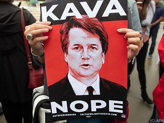 Richterkandidat Kavanaugh gibt sich aggressiv und verletzlich