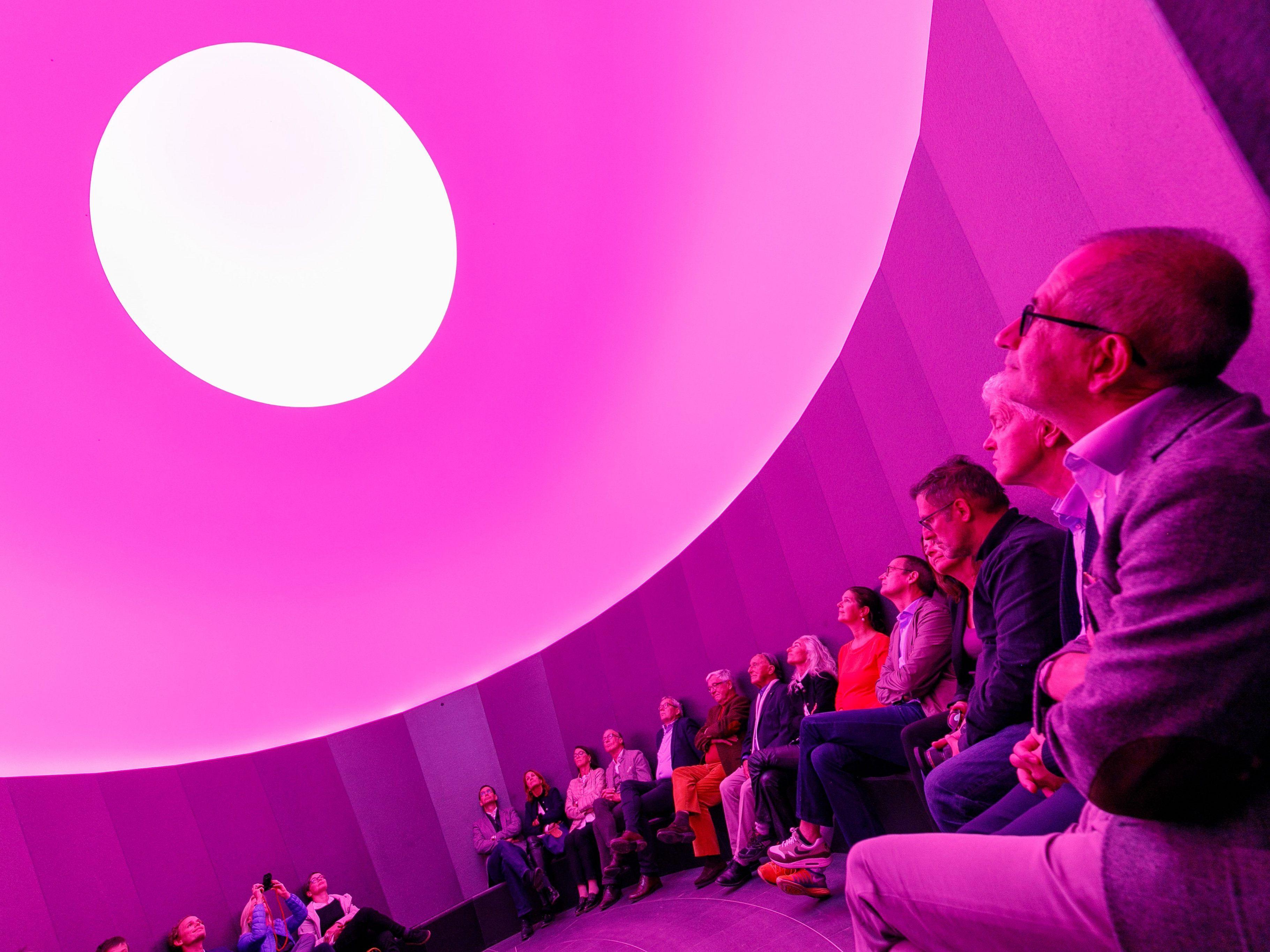 Vorarlberg: Skyspace Lech von James Turrell feierlich eröffnet