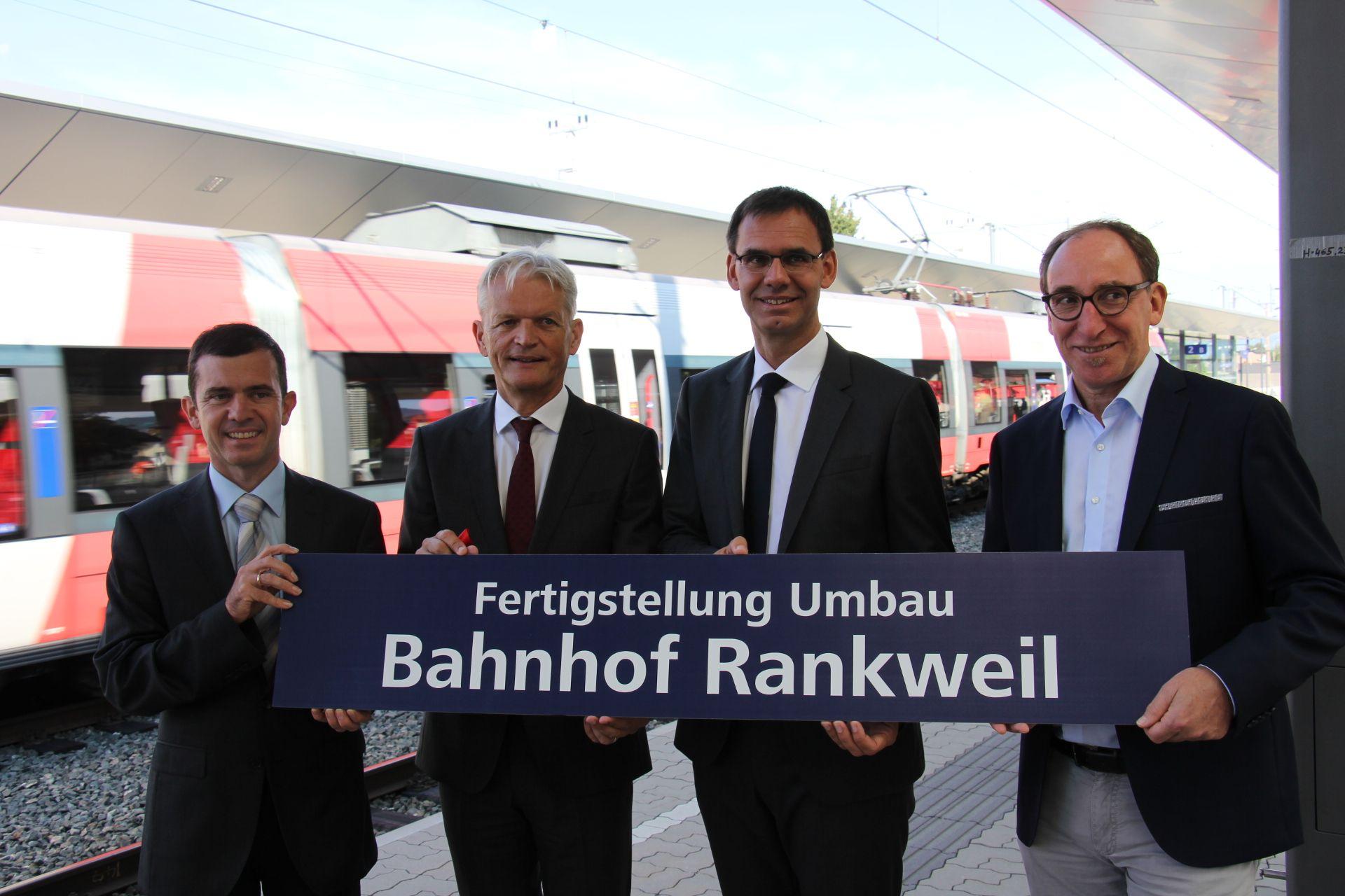 35 Mio. Euro investiert: Modernisierter Bahnhof Rankweil eröffnet