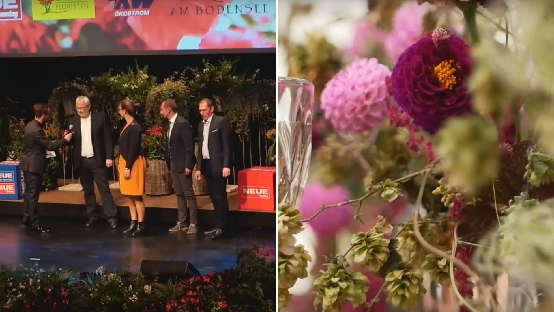 Blumenträume wurden wahr bei der 40. Flora Gala