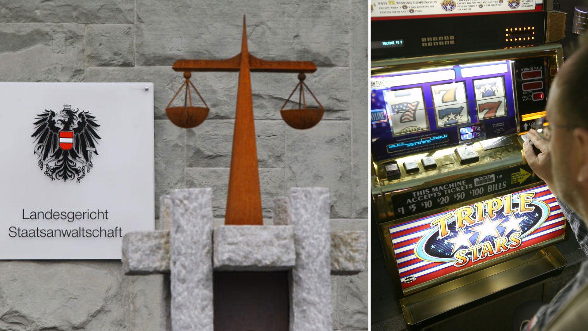 Illegal: Alarmanlage der Polizei in Glücksspiellokal