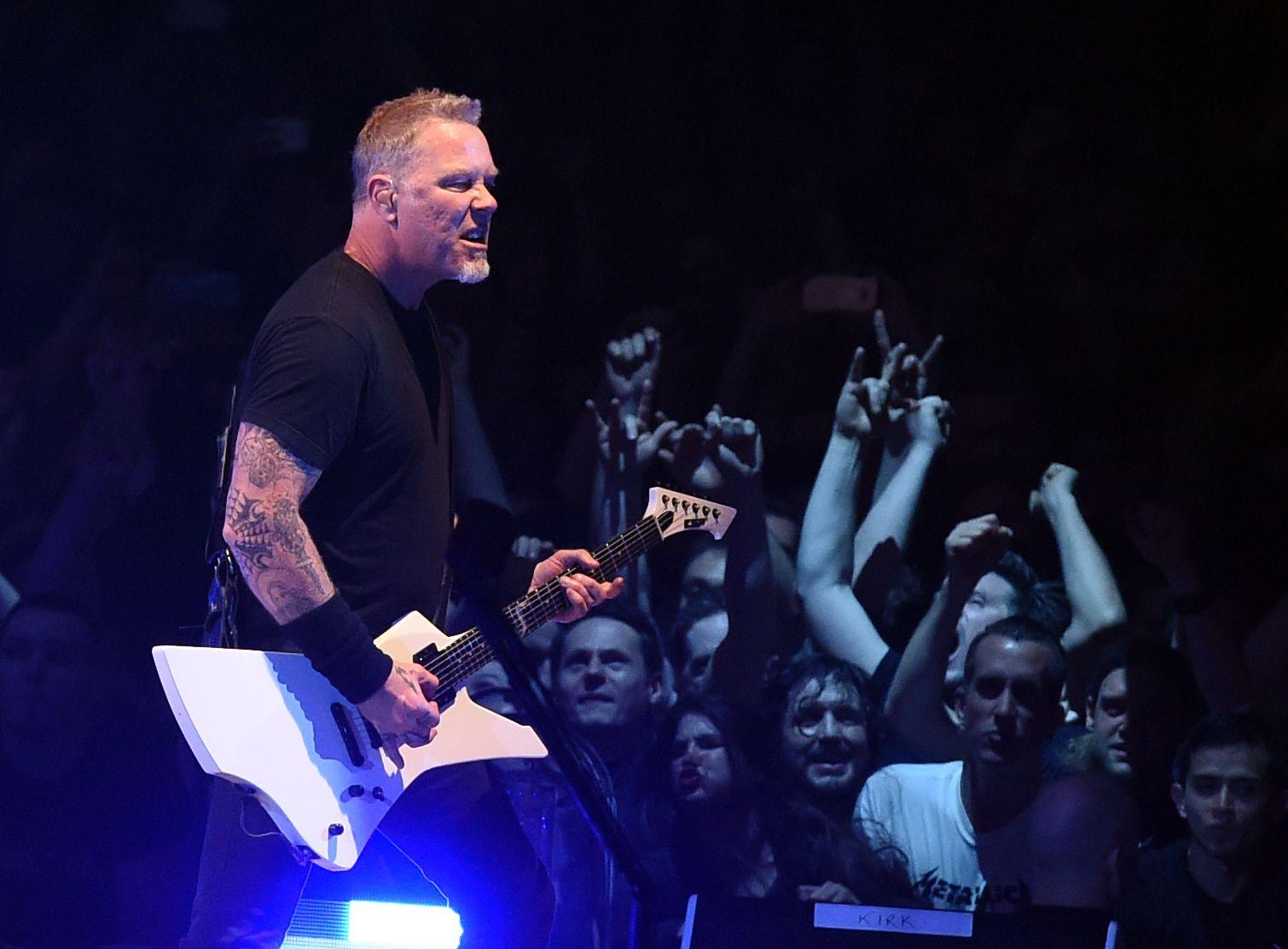 Metallica rockt 2019 das Ernst-Happel-Stadion in Wien