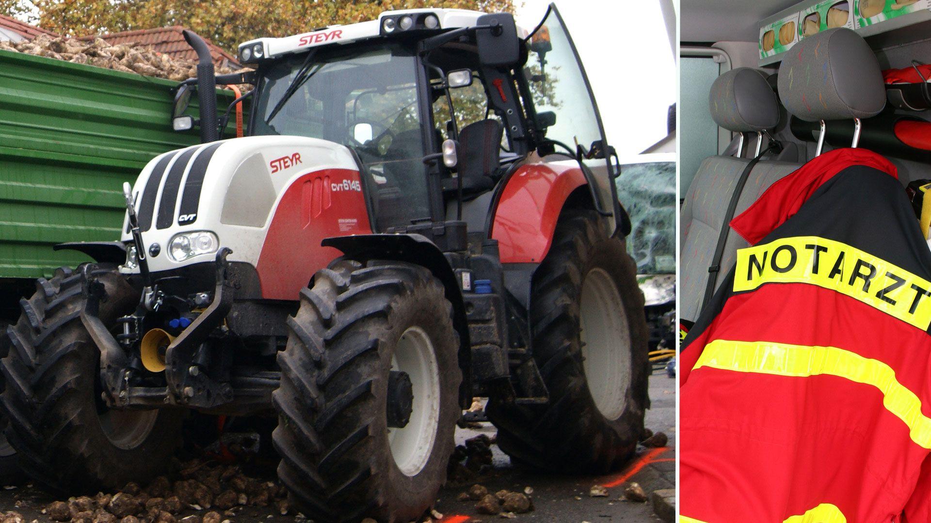 Traktor-Anhänger rutschte in Vorarlberg gegen Schülergruppe