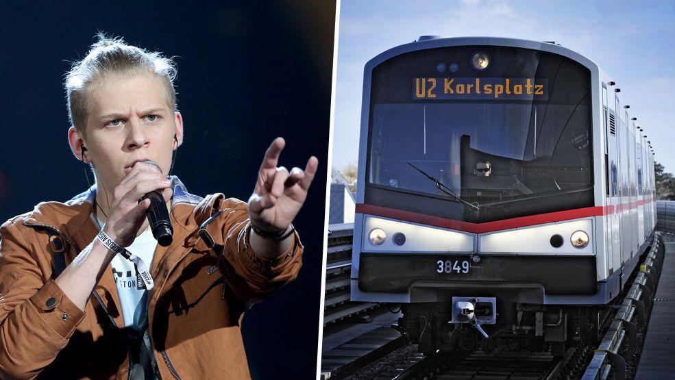 """U-Bahn-Konzert """"Unplugged"""" mit Kaiser Franz Josef und Thorsteinn Einarsson"""