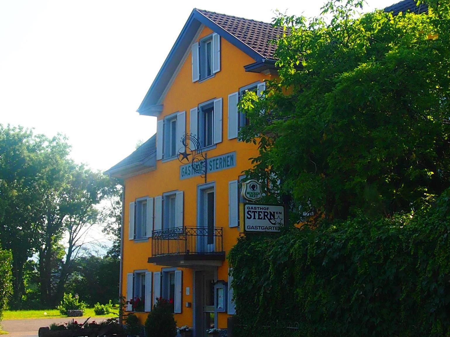 Traditions-Gasthaus Sternen in Hard.