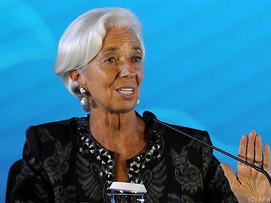 IWF-Chefin Lagarde geht auf Distanz zu Trump - Schlaglichter