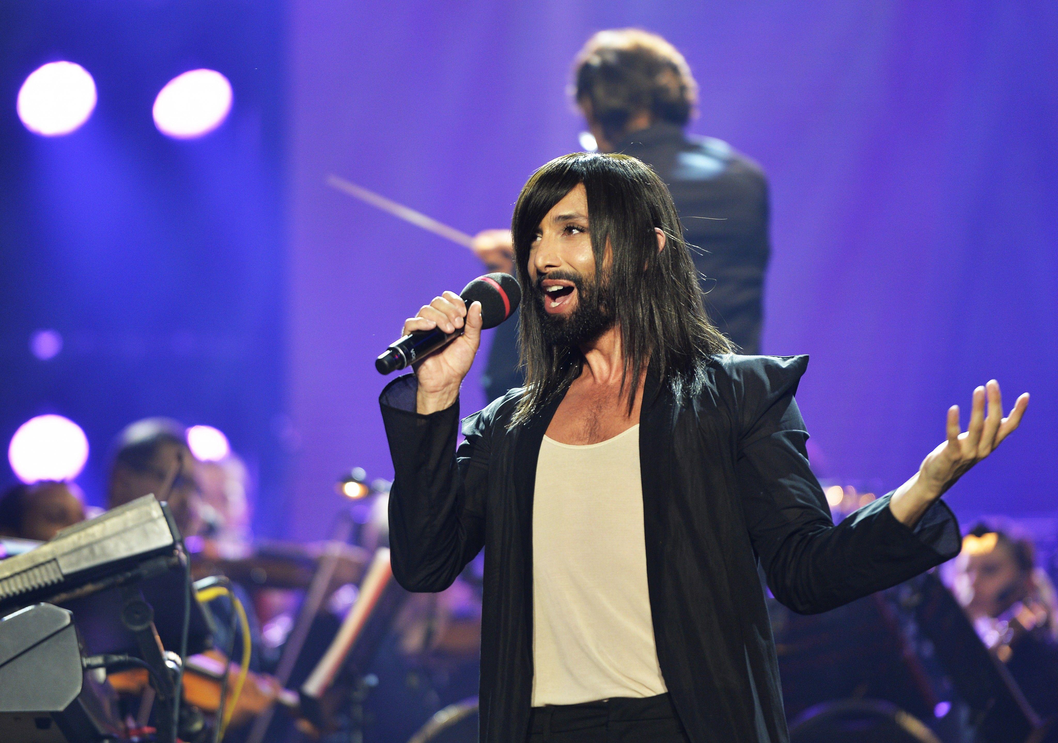 Conchita präsentierte neues Album im Wiener Konzerthaus