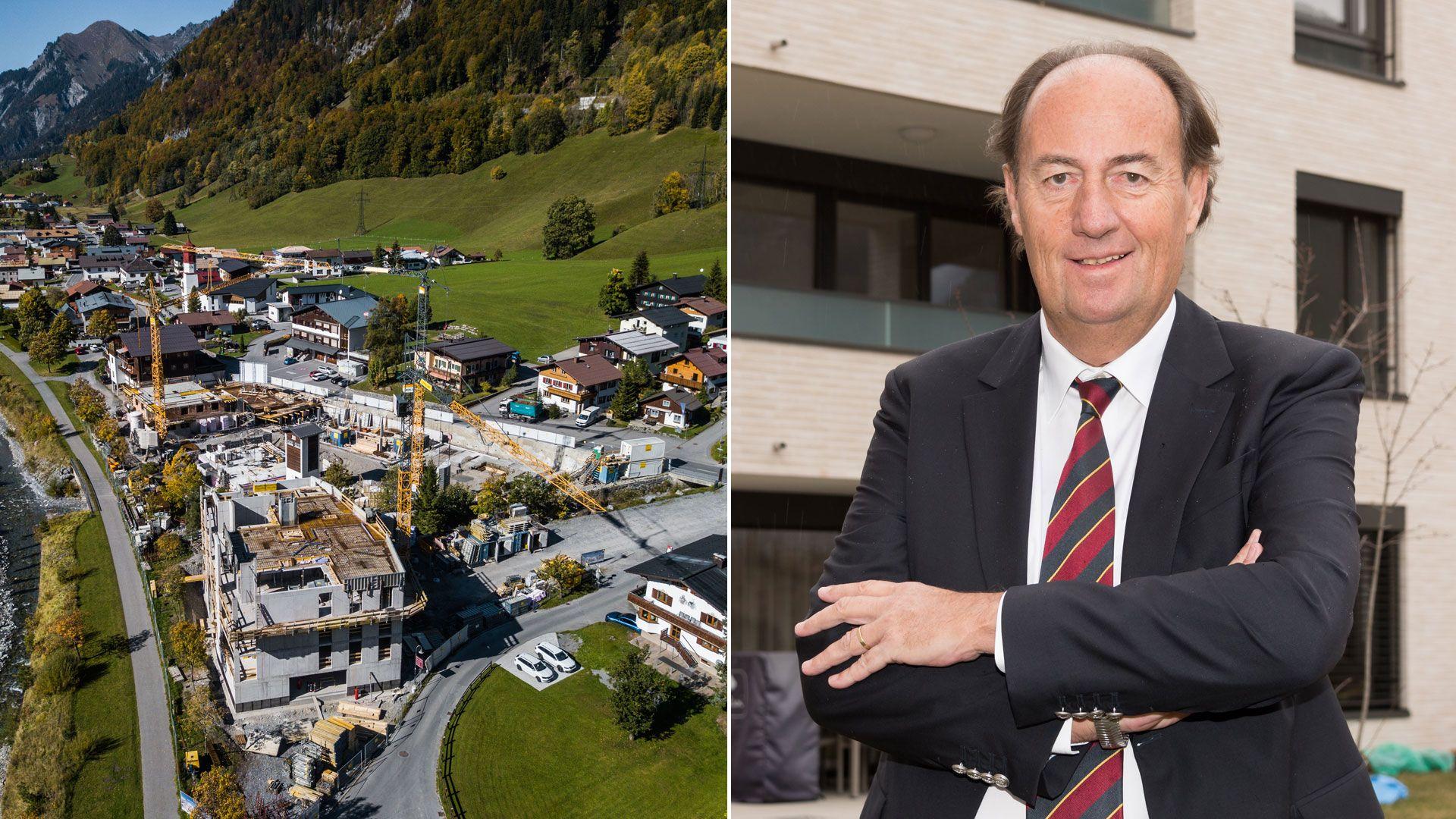 Vorarlberg: Jede Menge Luxus im stillen Bergdorf