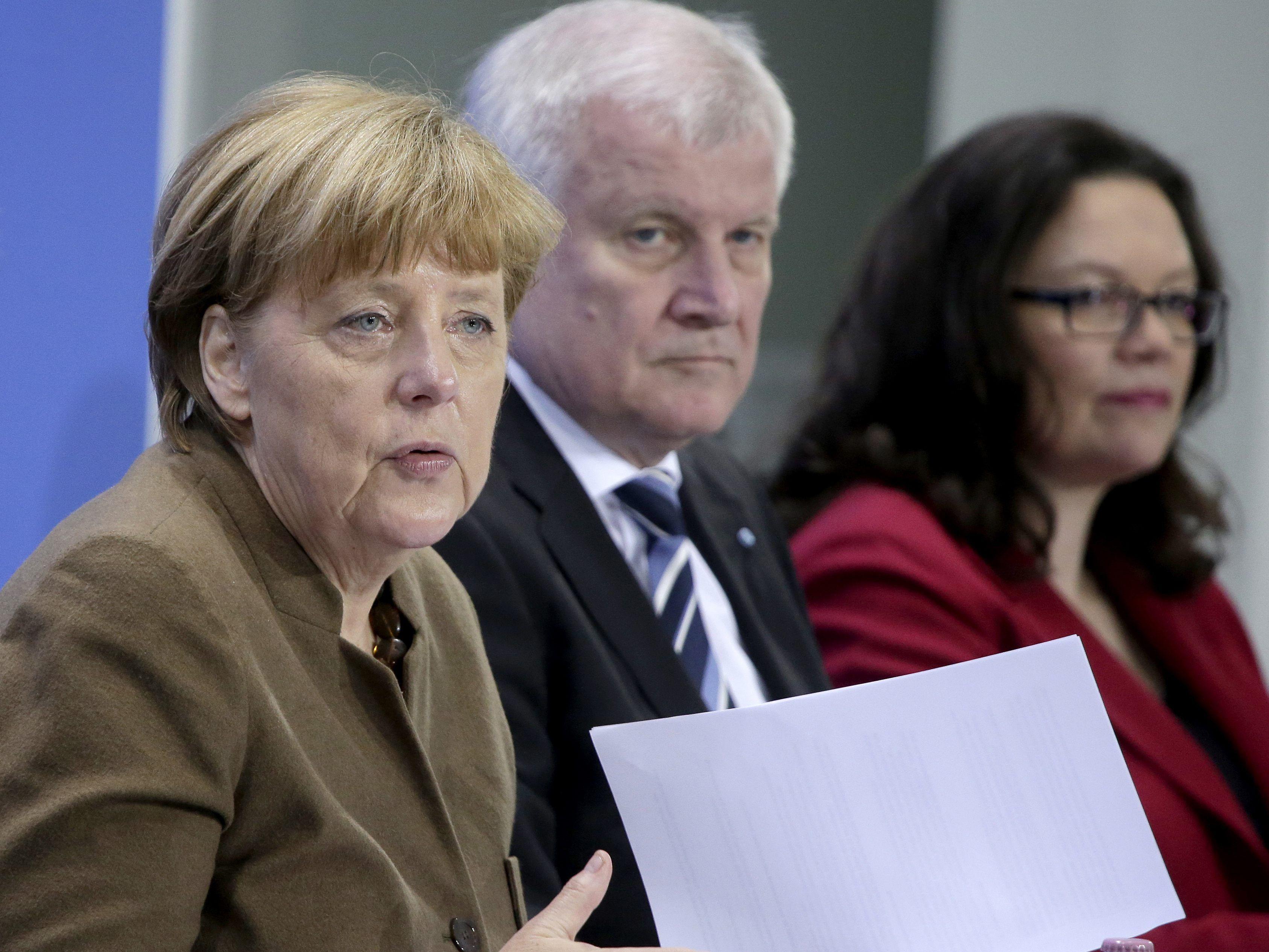 Deutsche Regierungsparteien fallen auf schlechtesten Wert aller Zeiten