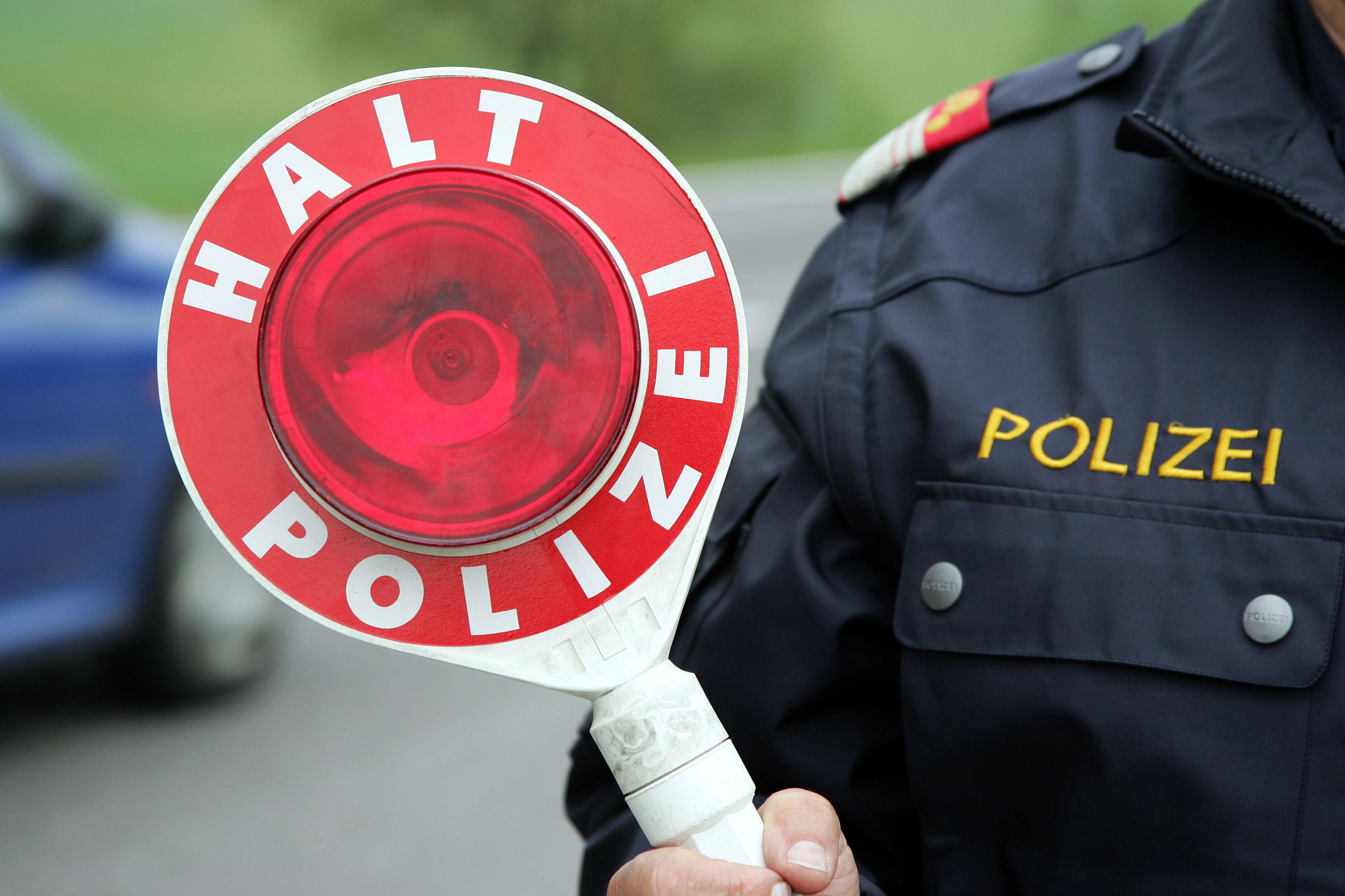 Pkw-Lenker lieferte sich in Vorarlberg Verfolgungsjagd mit Polizei