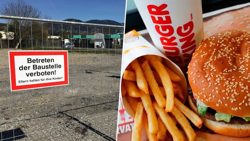 Vorarlberg: Eröffnung von Burger King-Filialen verzögert sich