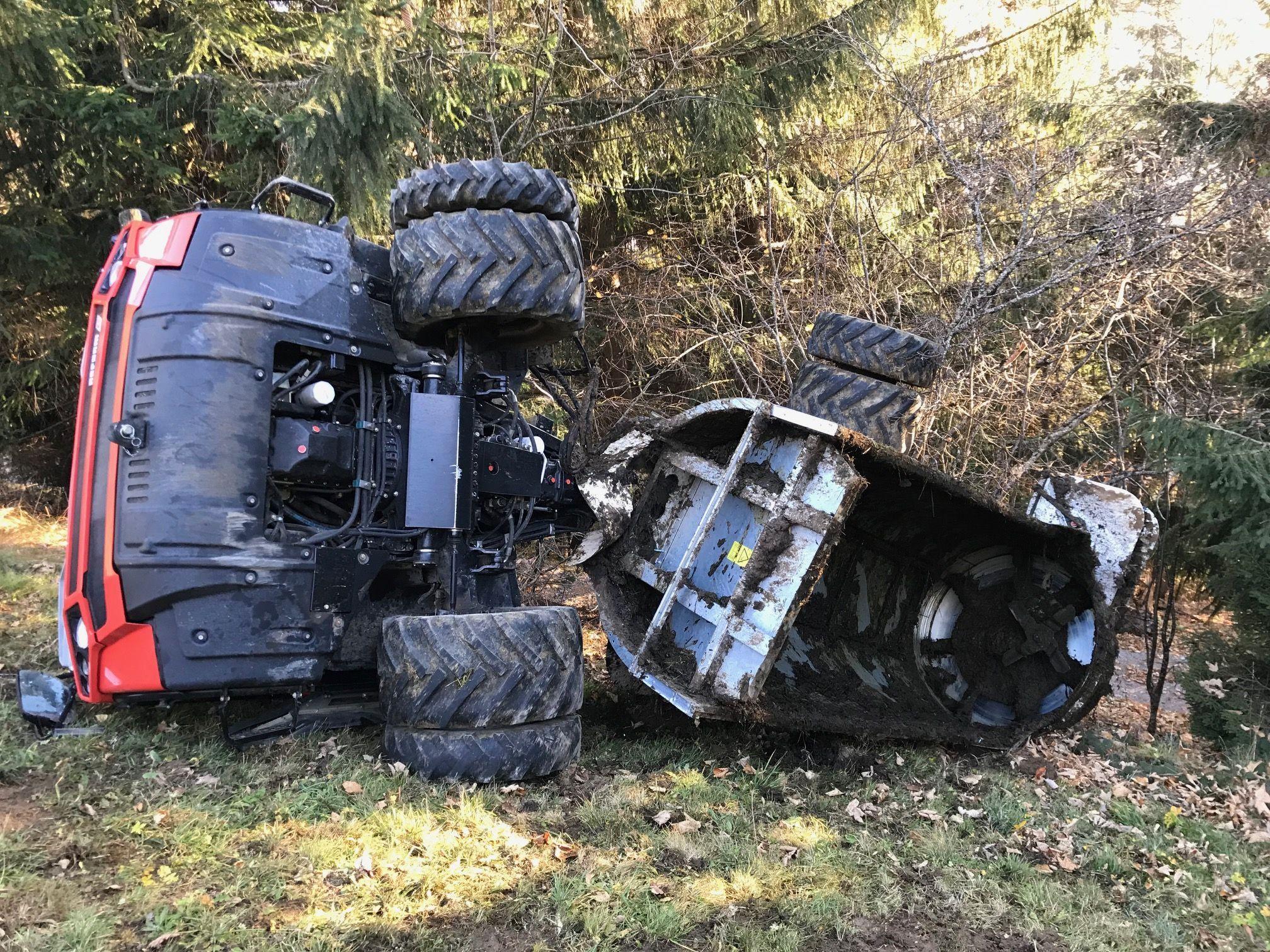 Vorarlberg: Unfall mit Aebi in Dünserberg