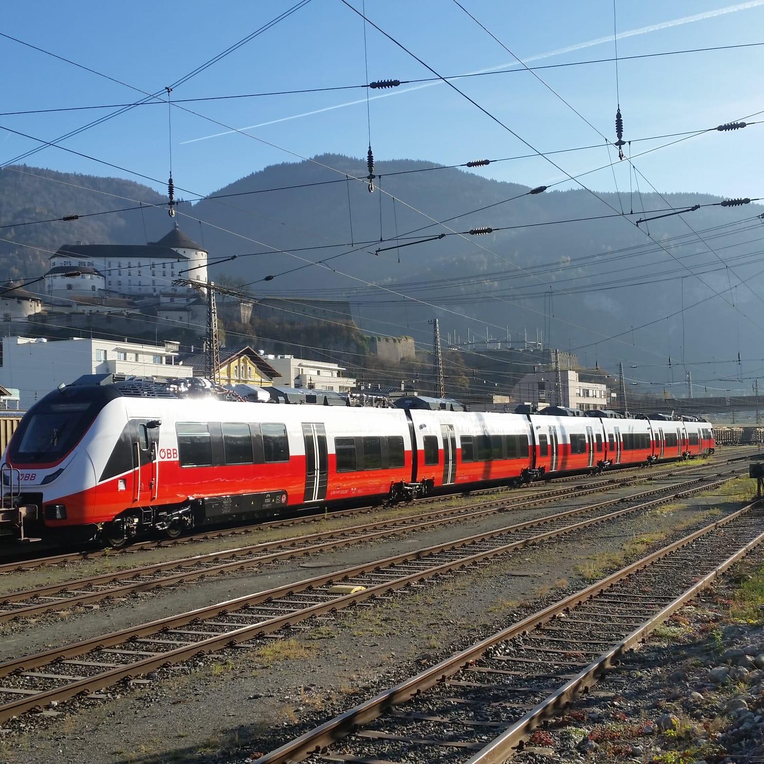 """Vorarlbergs Zug der Zukunft: """"Talent 3"""" erstmals in Österreich"""
